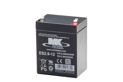 [해외] 축전지,배터리,베터리, Battery , MK, ES2.9-12, Maintenance-Free, Rechargeable, Sealed, Lead-Acid