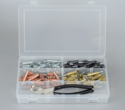 [해외] 클레코키트 Cleco Kit  (50 CLECOS & PLIERS) ATS-CL50K Riveting Equipment