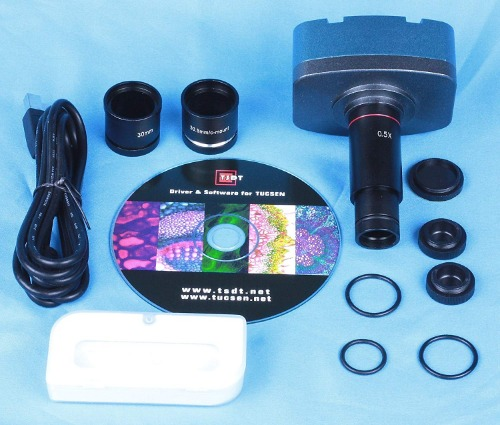 [해외] 스코프카메라 TUCSEN 10.0 MP USB CMOS MICROSCOPE DIGITAL COLOR CAMERA EYEPIECE AND VIDEO SYSTEM