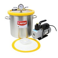 [해외] 5 Gallon Vacuum Degassing Chamber Kit with 3 CFM Pump - Not for Wood Stabilizing