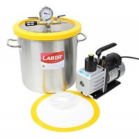 [해외] lab1st 5 Gallon Vacuum Degassing Chamber Kit with 5CFM Pump