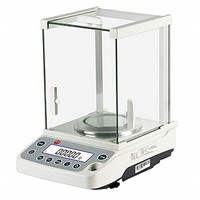 [해외] Hanchen Digital Analytical Balance, 0.1mg Precise Electronic Scale for Lab/Pharmacy/Jewelry Store/Chemical Plant 0.0001g (120g/0.0001g)