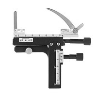 [해외] Microscope Attachable Mechanical Stage X-Y Moveable Stage Caliper with Scale for Microscope Calipers GBD