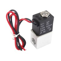 [해외] 1/4inch DC 12V 2 Way Normally Closed Electric Solenoid Air Valve