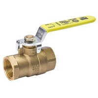 [해외] Mueller 107-823NL ProLine Full Port Heavy Duty Ball Valve, 1/2 in, FPT, 600 Wog, 150 Psi WSP, FIP