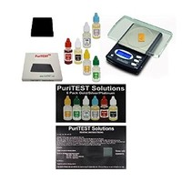[해외] Precious Metals Test Kit with Digital Lab Scale - Testing Metal Detector Finds, Scrap Jewelry, Metal Detector Finds Purity Quality Gold Silver