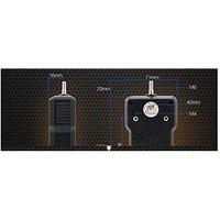 DC Fan Axial Ball Bearing 12V 51CFM 36dB 92 X 92 X 25mm High Performance//Tachometer E9225H12B1-FSR 5 Items