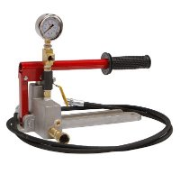 "[해외] 유압펌프 수동 테스트 펌프 Rice Hydro MTP-5 Manual Hydrostatic Hand Test Pumps, 500 psi, High Pressure 1/4"" Outlet Hose, 8' Length [B01AXZBXS4]"