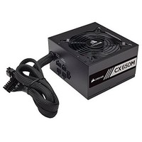[해외] Corsair CX Series 650 Watt 80 Plus Bronze Modular Power Supply (CP-9020103-NA) (Renewed)