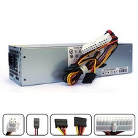 [해외] POINWER 3WN11 H240AS-00 709MT 240W Optiplex 7010 SFF Power Supply for Dell Optiplex 390 790 990 3010 9010 Small Form Factor Systems CCCVC 3RK5T 2TXYM F79TD L240AS-00 H240ES-00 D240