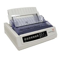 [해외] Oki Data Microline 320 Turbo Serial Dot Matrix Printer, 435 CPS, 240x216dpi, Serial/Parallel/USB, 120V