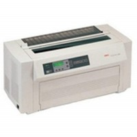 [해외] 61801001 Okidata Pacemark 4410 - Workgroup - Monochrome - Dot-matrix - 1066 Cps- super Draft44; 106 (Certified Refurbished)