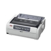 [해외] Oki Microline 620 Dot Matrix Printer - Monochrome - 9-pin - 700 cps Mono - 288 x 72 dpi - USB - Parallel 62433801 by OKI