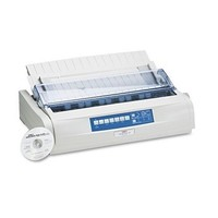 [해외] Oki - Microline 491 24-Pin Impact Printer 62419001 (DMi EA by OKI
