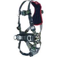 [해외] Miller RKNARRL-QC-BDP/UBK Revolution Arc Rated Harness with Kevlar-Nomex Webbing, Removable Belt, Side D-Rings and Pad, Rescue Loop and Quick-Connect Leg Buckles, Black, Universal