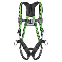 [해외] Miller Titan by Honeywell AC-TB-BDP/S/MGN AirCore Full Body Harness, Small/Medium, Green