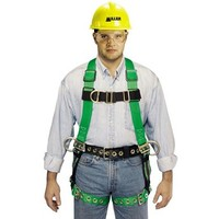 [해외] Miller by Honeywell P950FDQC-7D/S/MBL DuraFlex Python Full-Body Ultra Harnesses with Tubular Webbing and Front/Side D-Rings, Small/Medium, Blue