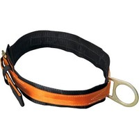 [해외] Miller Titan by Honeywell T3310/LAF Tongue Buckle Body Belt with Single D-Ring and 3-Inch Back Pad, Large