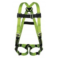 [해외] Honeywell Miller Duraflex Python Full Body Harness with 400 lb. Weight Capacity, Green, L/XL - 1 Each